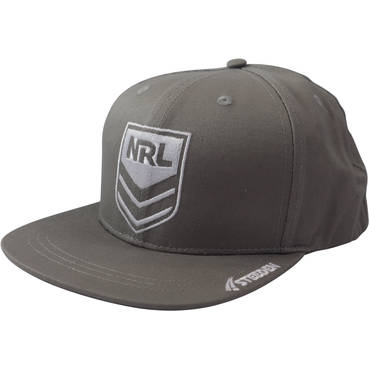 NRL Snap Back Hat - available in black and grey