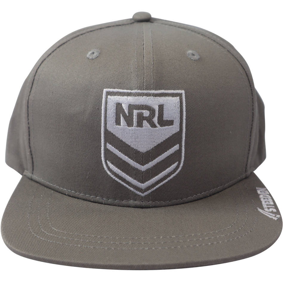 mainNRL Snap Back Hat - available in black and grey2