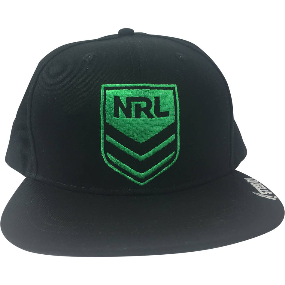mainNRL Snap Back Hat - available in black and grey3