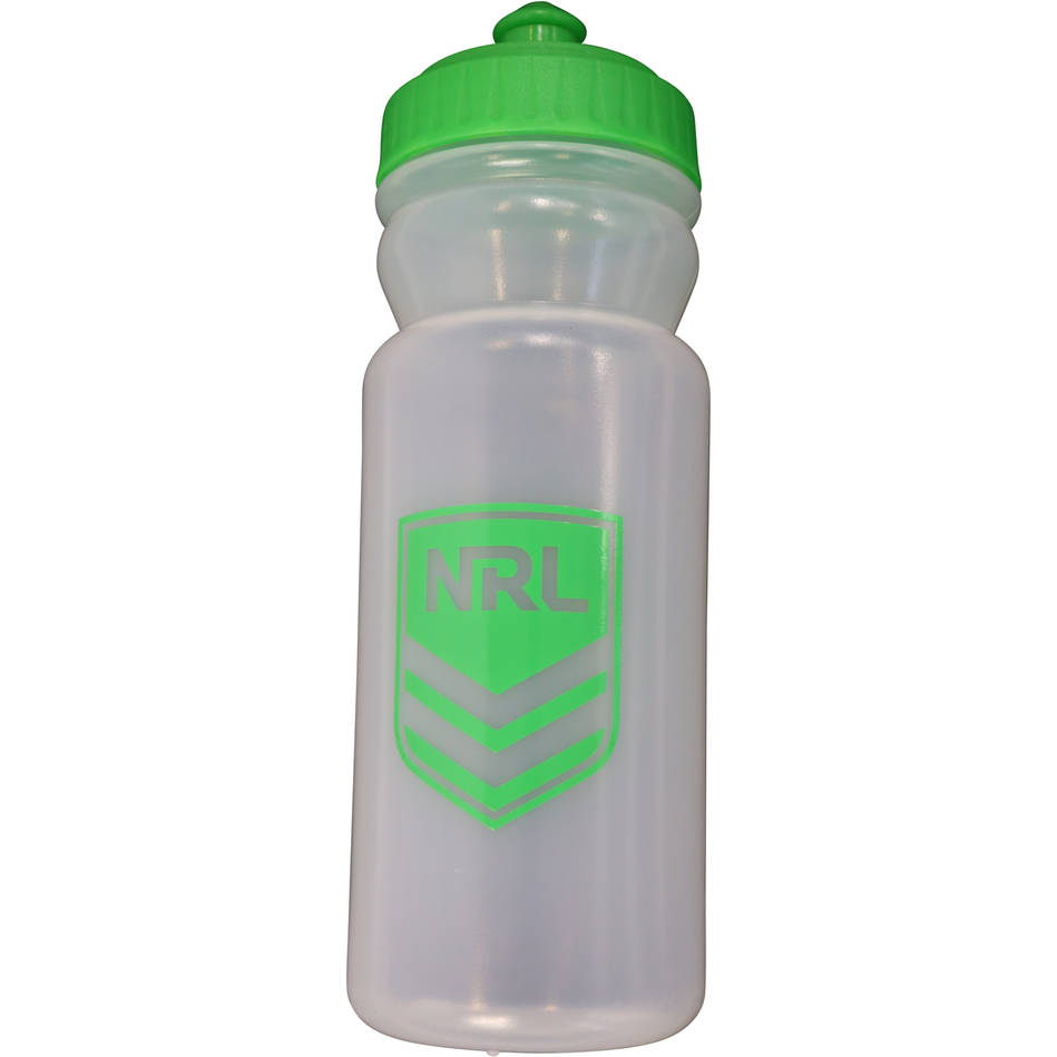 mainNRL Water Bottle - available in clear or purple0