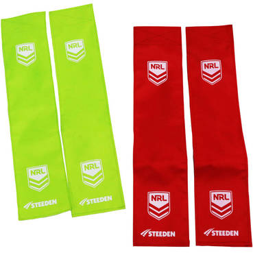 Individual Pair (Green or Red) - U6's and U7's Tag Rugby League Tags