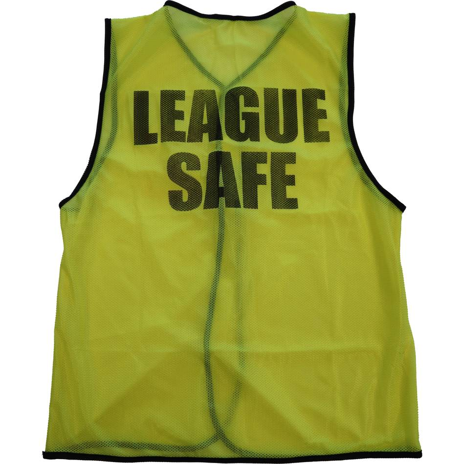 mainLeague Safe Bib - Yellow - Senior0