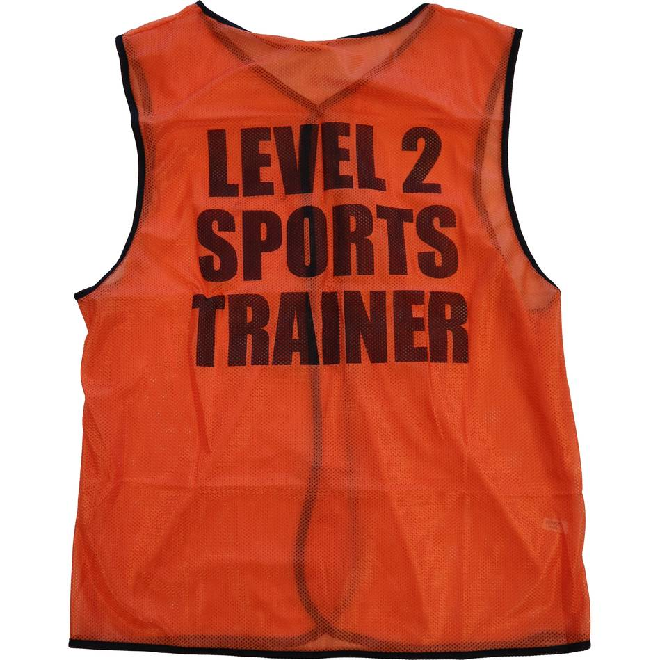mainLevel 2 Sports Trainer Bib - Orange0