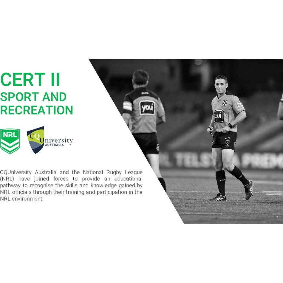 mainNRL VET Referee Program0